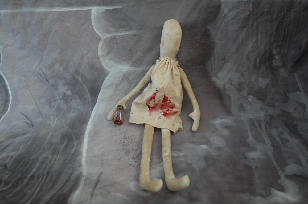 Creepy Baby Doll.