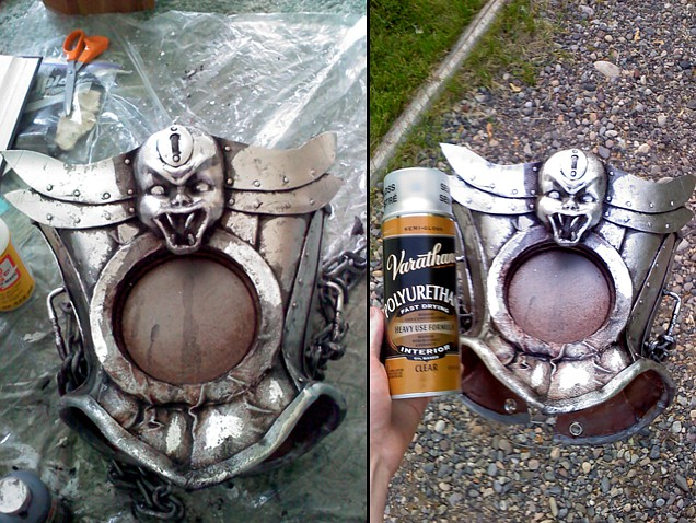 steampunk craft foam armor tutorial
