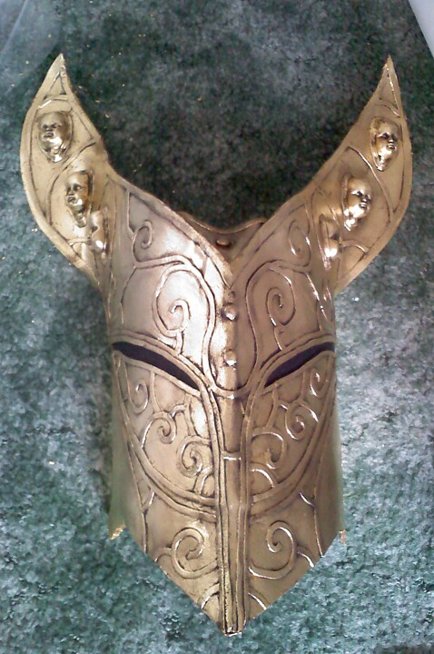 Finished Genie mask.