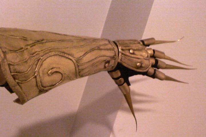 Finished Genie Glove.