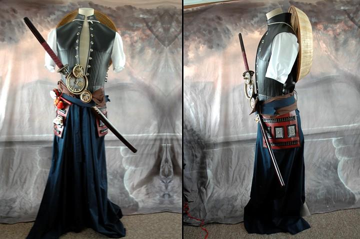 Steampunk Samurai costume.