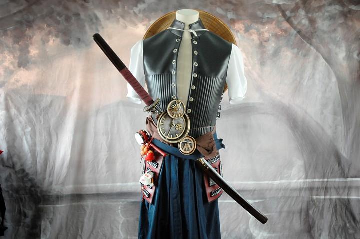 steampunk samurai costume
