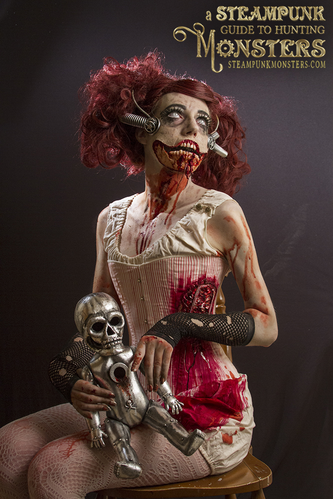 Catey in the final zombie image.