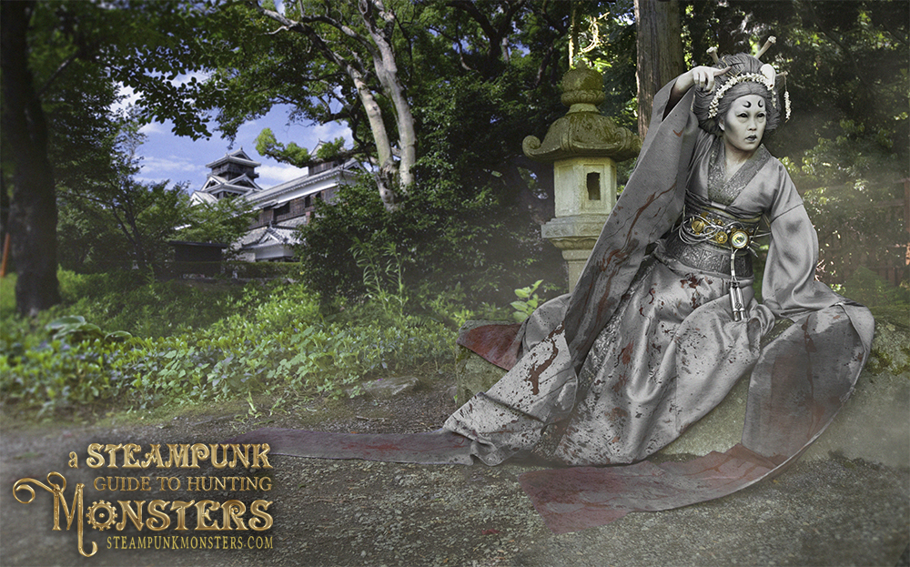 Steampunk Geisha Ghost